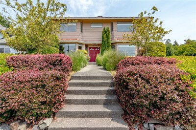 Tacoma Single Family Home For Sale: 4101 Browns Point Blvd NE