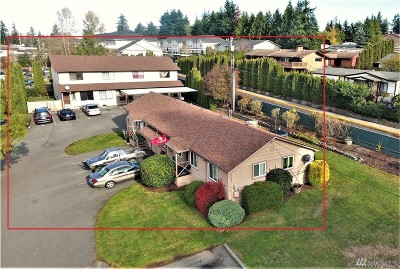 Lynnwood Multi Family Home For Sale: 4223 164th St SW #A-F