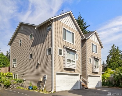 Bothell Condo/Townhouse For Sale: 16230 3rd Ave SE #A1