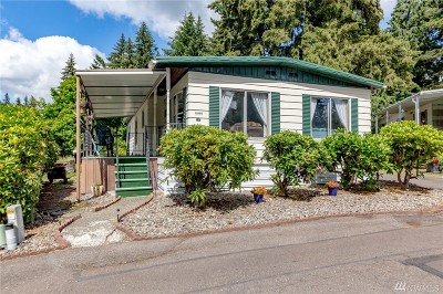 Puyallup Mobile Home For Sale: 12606 113th Ave E #243
