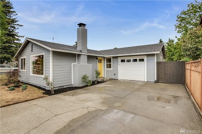 Seattle Single Family Home For Sale: 10832 3rd Ave SW