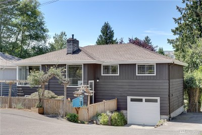 Single Family Home For Sale: 11209 12th Ave NE