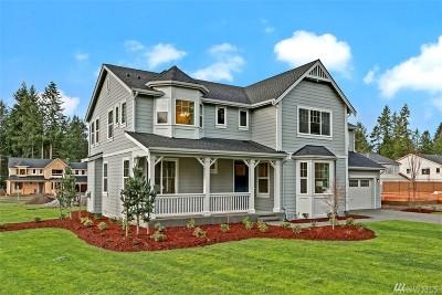 Renton Single Family Home For Sale: 14435 161st (Lot 13) Ave SE
