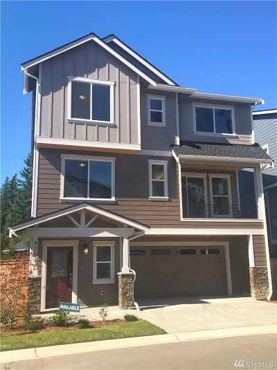 Sammamish Single Family Home For Sale: 4709 244th Ct. SE (Homesite 9)