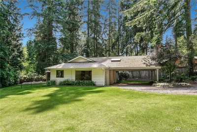 Bellevue Single Family Home For Sale: 3048 164th Place NE