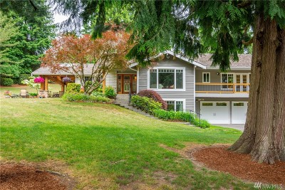 Kirkland Single Family Home For Sale: 6636 134th Ave NE