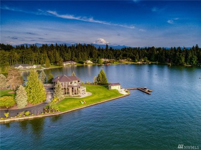 Lake Tapps WA Single Family Home For Sale: $2,695,000