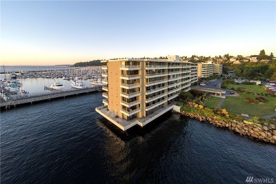Condo/Townhouse Sold: 6533 Seaview Ave NW #404A