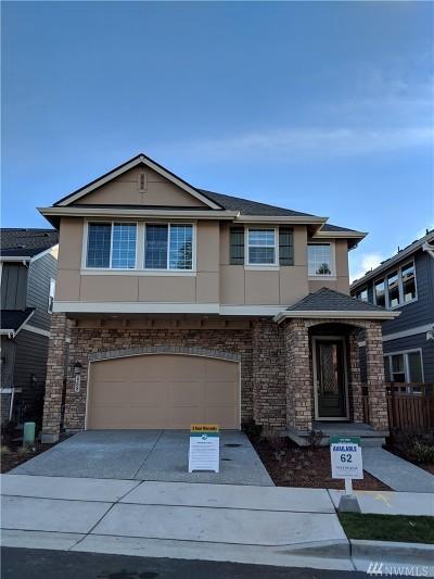 Issaquah Single Family Home For Sale: 468 6th (Lot 62) Lane NE