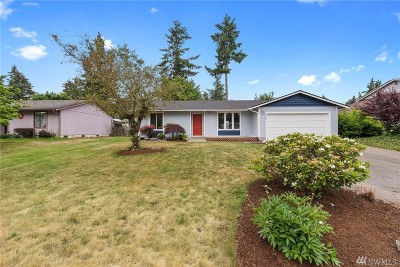 Puyallup Single Family Home For Sale: 8406 188th St Ct E