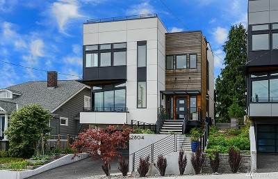 Seattle Single Family Home For Sale: 2804 W Boston St