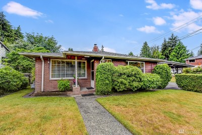 Shoreline Single Family Home For Sale: 137 N 200th