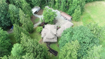 Stanwood Single Family Home For Sale: 31413 English Grade Rd