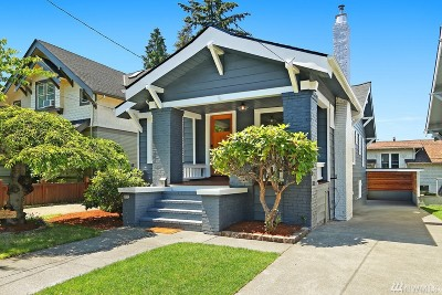 Seattle Single Family Home For Sale: 5017 Meridian Ave N