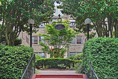 Condo/Townhouse Sold: 1605 E Olive St #312