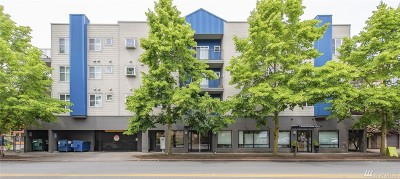 Seattle Condo/Townhouse For Sale: 12345 Roosevelt Way NE #308