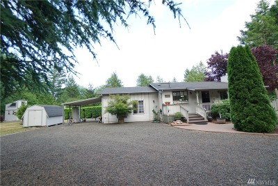 Shelton Single Family Home For Sale: 120 E Rhododendron Place