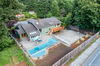 Olympia Single Family Home For Sale: 3204 Fairview St SE