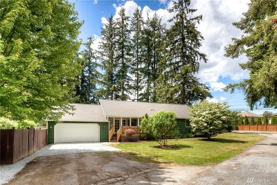Bothell Single Family Home For Sale: 19021 Grannis Rd