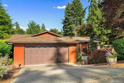 Bellevue Single Family Home For Sale: 6210 122nd Ave SE