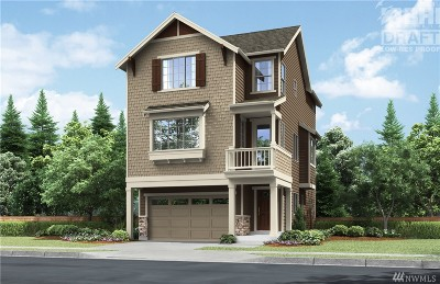 Lynnwood Condo/Townhouse For Sale: 718 205th Place SW #9