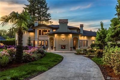 Kirkland Single Family Home For Sale: 12831 NE 61st St