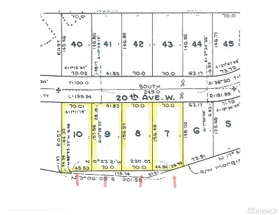 Snohomish County Residential Lots & Land For Sale: 166 20th Ave W