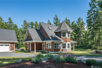 Single Family Home For Sale: 392 Channel Rd