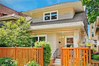 King County Single Family Home For Sale: 309 Boylston Ave E