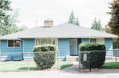 Lakewood Single Family Home For Sale: 7009 SW Flora St SW