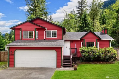 North Bend WA Single Family Home For Sale: $499,000