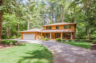 Woodinville Single Family Home For Sale: 19741 NE 191st St