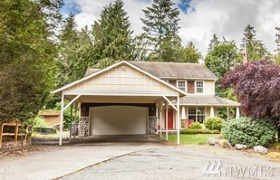 Snohomish Single Family Home For Sale: 18410 Meadow Lake Road