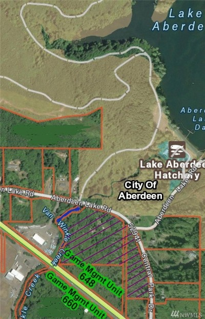 Grays Harbor County Residential Lots & Land For Sale: 4019 Aberdeen Lake Rd