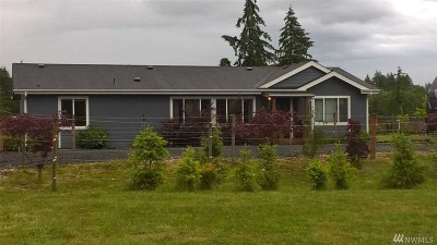 Chehalis Single Family Home For Sale: 1250 N Fork Rd