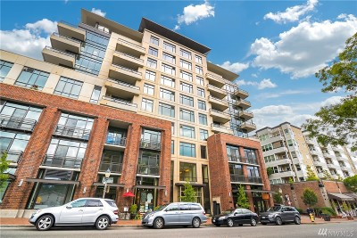 Bellevue Condo/Townhouse For Sale: 10000 Main St #404