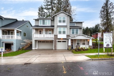 Bothell Single Family Home For Sale: 10807 NE 193rd (#1) St
