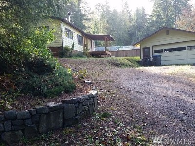 Belfair Single Family Home For Sale: 120 E Hillside Dr