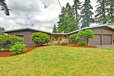 Bellevue Single Family Home For Sale: 15804 SE 26th St