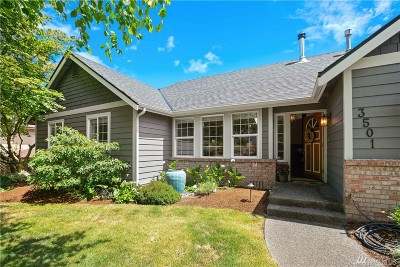 Gig Harbor Single Family Home For Sale: 3501 58th Ave NW