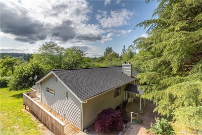 Gig Harbor Single Family Home For Sale: 14861 Olympic Dr SE