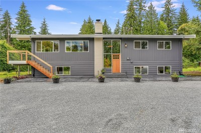 Snohomish Single Family Home For Sale: 14831 Three Lakes Rd
