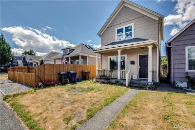 Single Family Home For Sale: 5818 S Montgomery St
