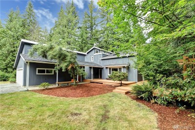 Snohomish Single Family Home For Sale: 1110 Carlson Rd