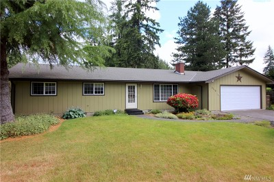 Lacey Single Family Home For Sale: 3116 Brentwood Dr SE