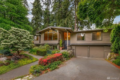 Bellevue Single Family Home For Sale: 16515 SE 31st St