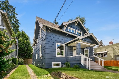Seattle Single Family Home For Sale: 1813 N 51st St