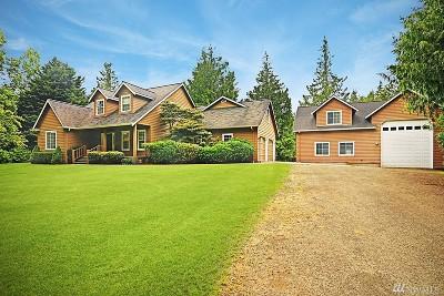 Kingston Single Family Home Pending: 34893 Hansville Rd NE