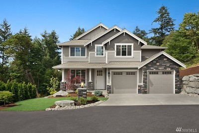 Gig Harbor Single Family Home For Sale: 7801 76th Ave NW