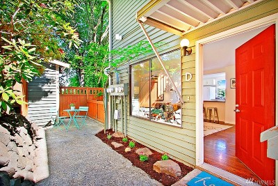 Seattle, Bellevue, Kenmore, Kirkland, Bothell Single Family Home For Sale: 202 25th Ave E #D